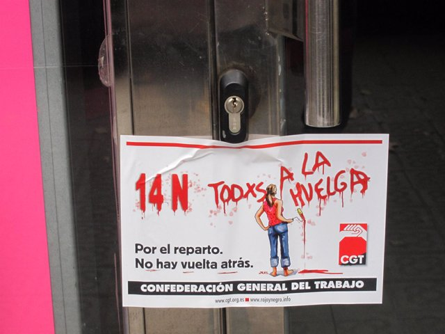 Comercio cerrado huelga Barcelona