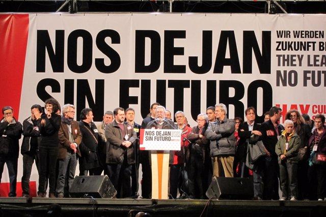 Manifestación central del 14-N celebrada en Madrid