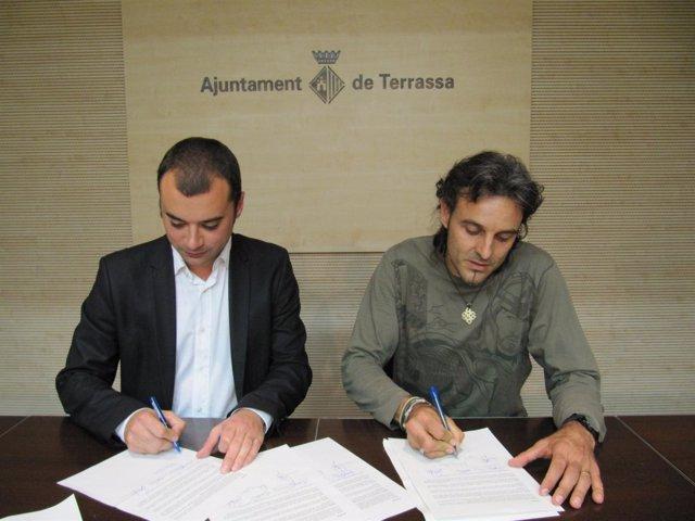 Acuerdo entre el Ayto. De Terrassa y el comité de Eco-Equip