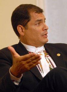 El presidente ecuatoriano, Rafael Correa.