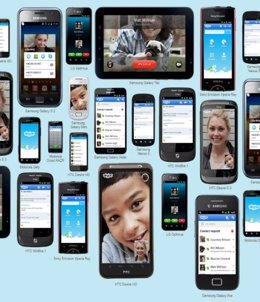 Terminales Android con Skype