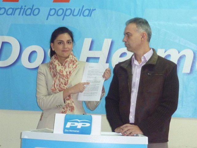 Eladia Illescas y Luis Gómez