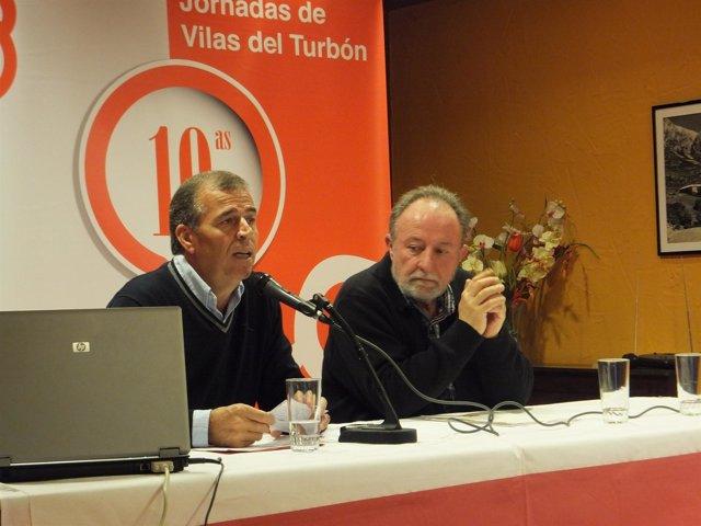 Antonio Cosculluela y José Franch