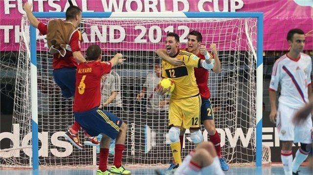 Juanjo selección española fútbol sala