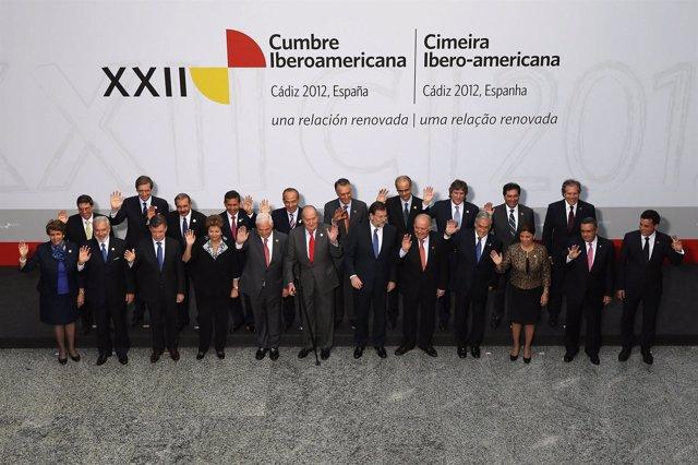 Cumbre Iberoamericana foto de familia