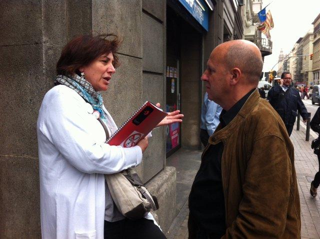 Montse Ros  Y Xavier Casas