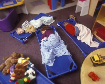 Los niños que van a la guardería tienen más probabilidades de tener sobrepeso, según un estudio