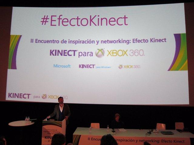 II Encuentro de Inspiración y Networking Efecto Kinect