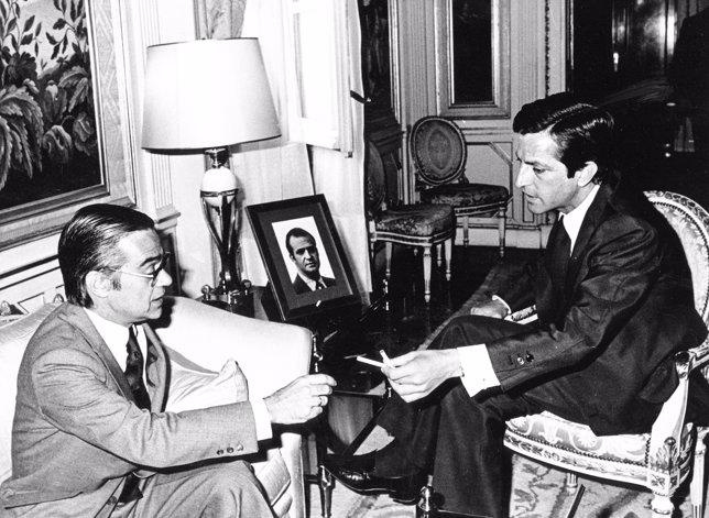 Antonio Herrero entrevista a Adolfo Suárez - Derechos reservados. Se autoriza el uso únicamente para la difusión del libro