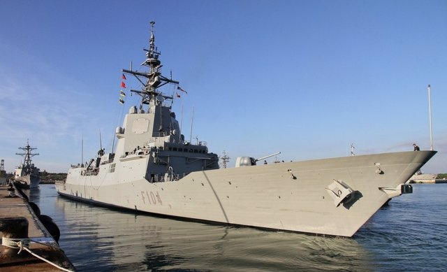Fragata Méndez Núñez de la Armada