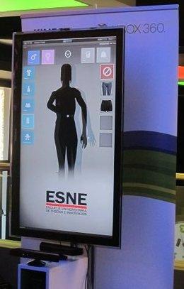 Proyecto Kinect Vestidor Virtual de ESNE