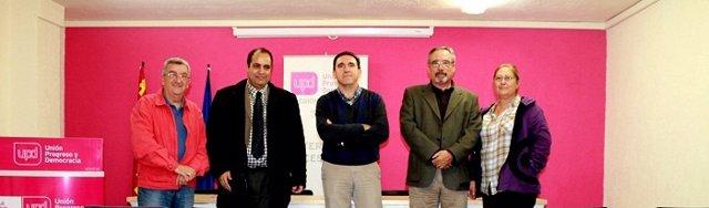 Sánchez y Sotomayor se reúnen con delegado Frente Polisario en Murcia