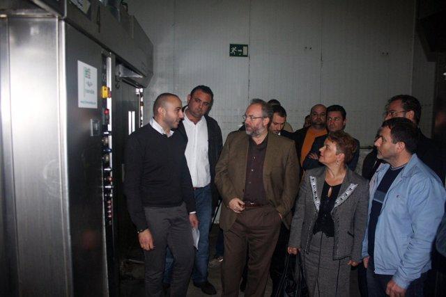 Visita a Hornipan Rangel para conocer nuevo horno de biomasa H2O Renovables.