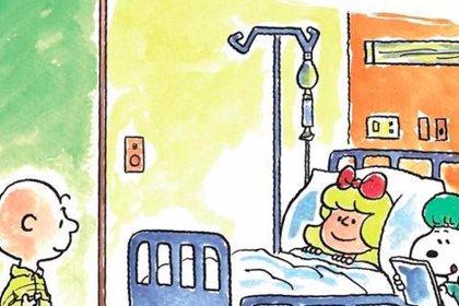 Snoopy y sus amigos, aliados contra la leucemia infantil