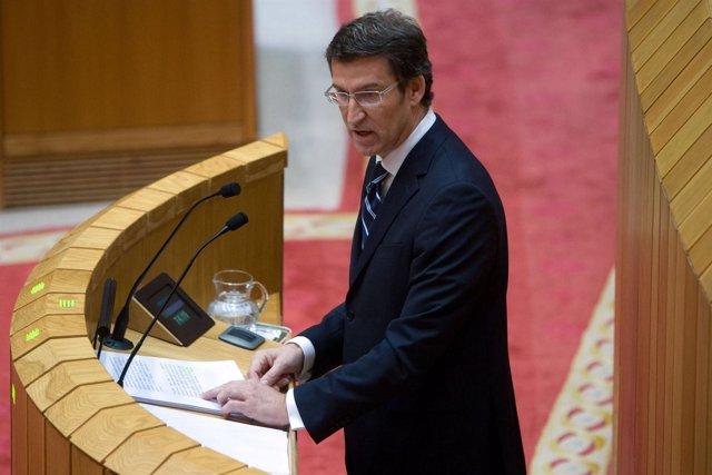 Feijóo En El Debate Del Estado De La Autonomía 2012