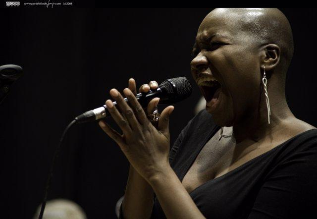 Janine Johnson En El Festival De Jazz De La UPV