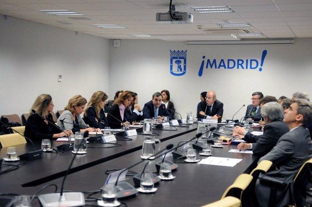 Comisión de investigación por el Madrid Arena