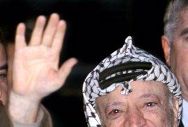 Exhuman los restos mortales del expresidente Yasir Arafat