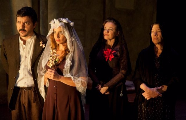 Una escena de la obra de teatro