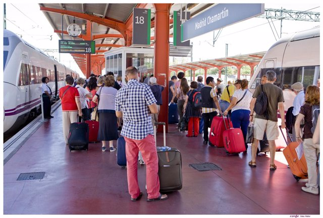 Trenes, estaciones, ferrocarril, Renfe