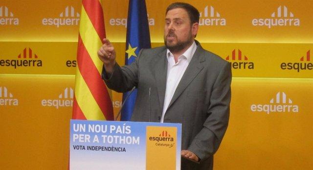 Oriol Junqueras, ERC