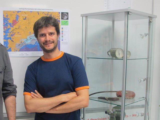 El estudiante de la Escuela de Ingeniería de la UPV/EHU Iñaki Ordóñez.