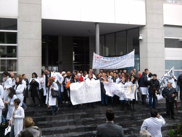 Huelga sanitaria en Parla