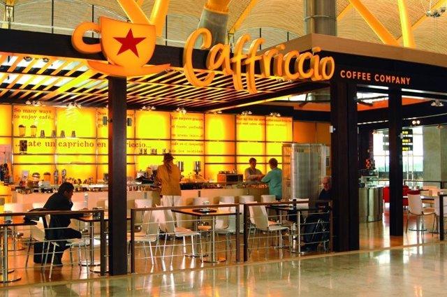 Cafetería en Barajas