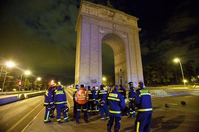 Madrid, 27 de noviembre de 2012Simulacro de incendio y evacuación en el intercam