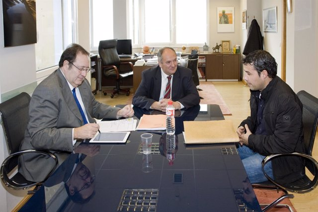Reunión consejero-alcalde