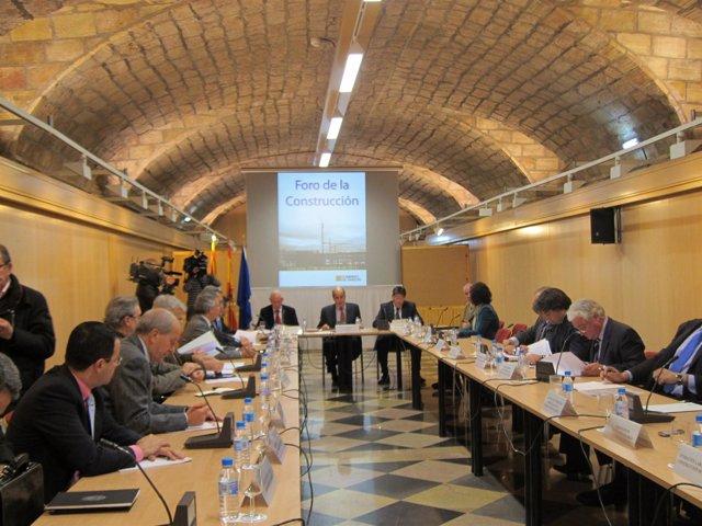 Primera reunión del Foro de la Construcción.