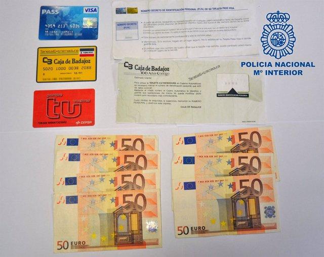 Dinero y tarjetas