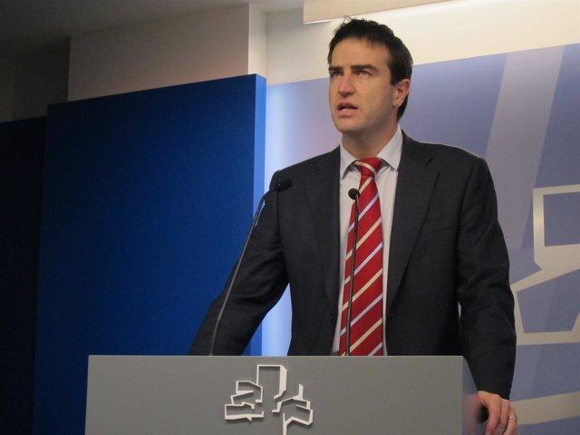 El parlamentario de UPyD Gorka Maneiro
