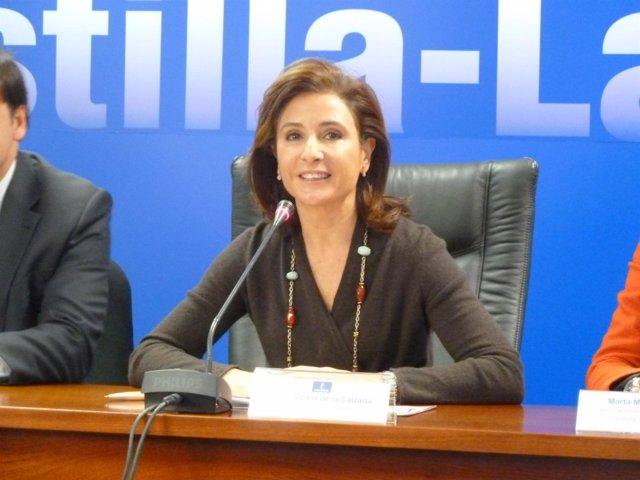 Consejera de Fomento, Marta García de la Calzada