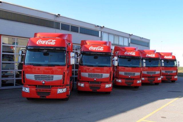 Camiones De Renault Trucks Para Coca-Cola