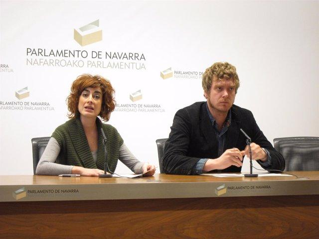 Bakartxo Ruiz Y Maiorga Ramirez.