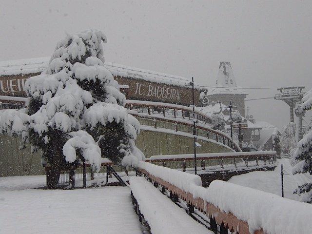 Estación de esquí de Baqueira Beret, nevadas, esquí