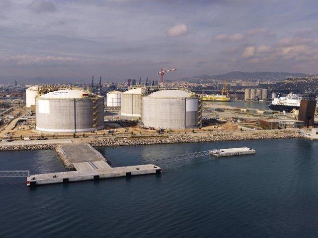 Muelle Energía Puerto de Barcelona