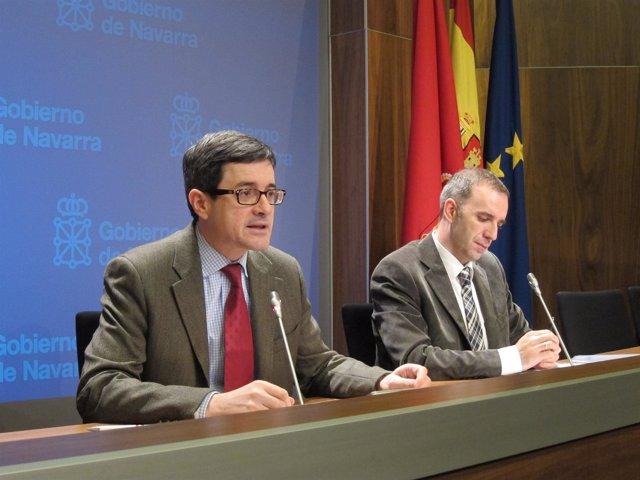 José Iribas y Marcelino Arrosagaray.