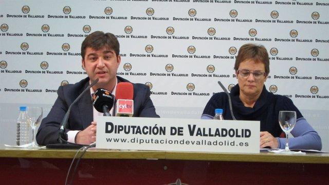 Juan José Zancada y María Jesús Lobo presentan las enmiendas