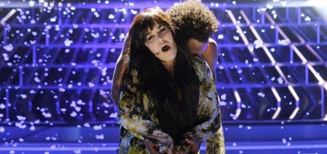 La cantante Roko en 'Tu cara me suena'