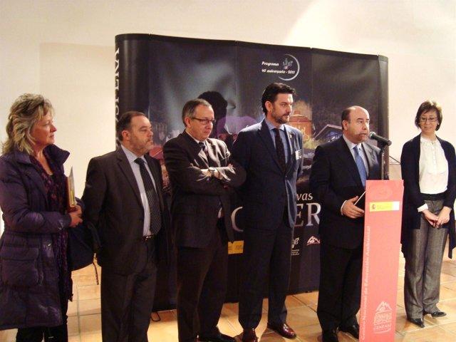 Rada inaugura la muestra en Valsaín (Segovia).