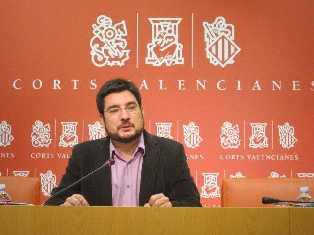 Ignacio Blanco en la rueda de prensa