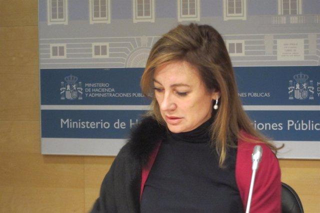 La secretaria de Estado de Presupuestos, Marta Fernández Currás
