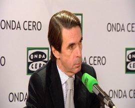 """Aznar ve """"golpista"""" la actitud de Artur Mas"""