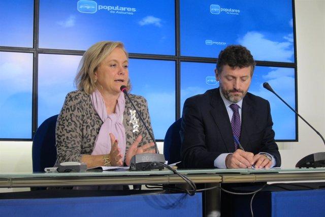 Mercedes Fernández y Matías Rodríguez Feito