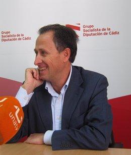José María Román, portavoz del PSOE en la Diputación de Cádiz