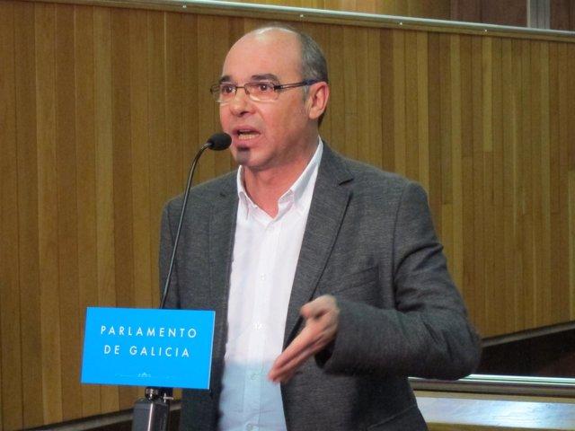 Francisco Jorquera del BNG tras el discurso de investidura de Feijóo