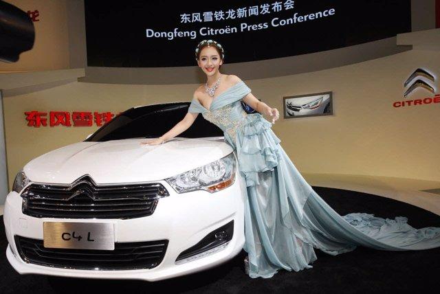 Presentación del Citroën C4L en China