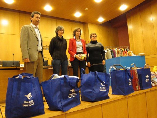 Presentación de la campaña solidaria de Navidad Solidaria